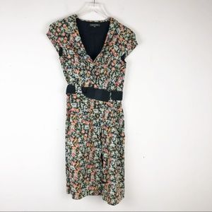 Emily and Fin Dresses - Emily and Fin Floral Belted Dress NWOT